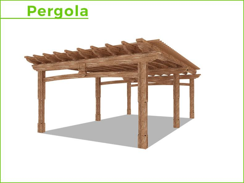 plan pergola bois gratuit beautiful dessin technique. Black Bedroom Furniture Sets. Home Design Ideas